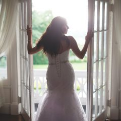 Hudson Valley Balcony, Hudson River Views, Westchester Views, Westchester Balcony, Briarcliff Manor, The Briarcliff Manor, Balcony Views, Bridal Portrait, Westchester Bride
