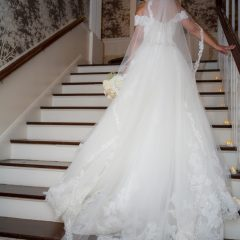 Westchester Mansion, Briarcliff Mansion, Grand Staircase, Southern Manor, Bridal Portrait, Sweeping Staircase, Hudson Valley Weddings, Westchester Weddings