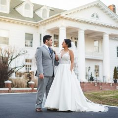 manor weddings westchester new york bridal suite grooms suite winter wedding winter wonderland indoor ceremony ballroom