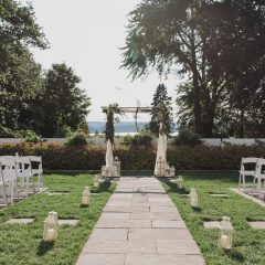 Ceremony Shot The Briarcliff Manor Wow
