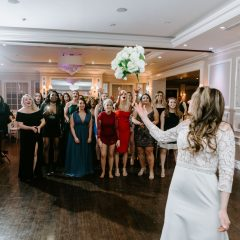 The Briarcliff Manor Bouquet Toss
